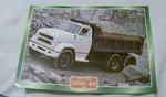 Chevrolet JM70 1968 Truck framed picture